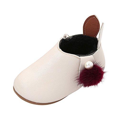 YanHoo Zapatos niños Niñas Casuales Orejas Conejo
