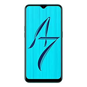 OPPO A7 (Glaze Blue, 3GB RAM, 64GB Storage) with No Cost EMI/Additional Exchange Offers