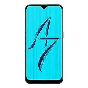 OPPO A7 (Glaze Blue, 3GB RAM, 64GB Storage) Without Offer