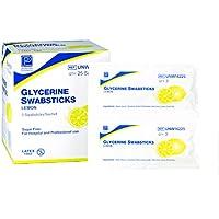 Premier glicerina swabsticks–Sabor de Limón