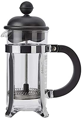 BODUM Caffettiera 3 Cup French Press Coffee Maker, Black, 0.35 l, 12 oz