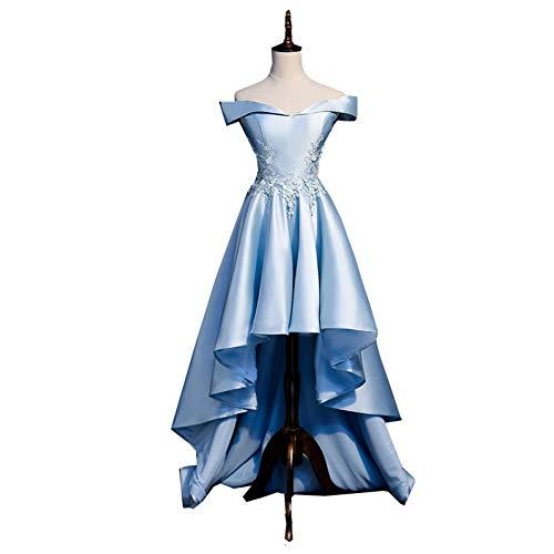 QAQBDBCKL Hellblau Prinzessin Kleid Mittelalterlichen Kleid Renaissance-Kleid Kostüm Viktorianischen Gothic/Marie Antoinette/Bürgerkrieg/Colonial Belle Ball (Bürgerkrieg Kleider Für Mädchen)