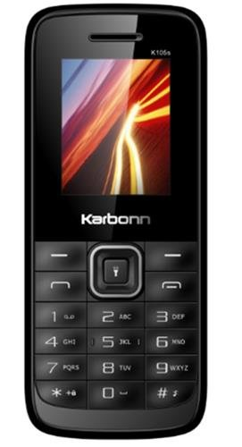 Karbonn K105 Star (Black Red)