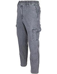 6f683a757ec1 Herren Jeans, Cargojeans, Schlupfhose Schlupfjeans, Stretchjeans von  SOUNON® - 5 Farben Größe