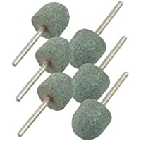 'Groen 0,65halve Cirkel gevormd hoofd polijstmachine slijpen Pin 6stuks