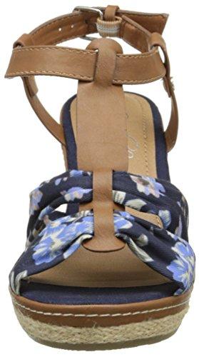 Tom Tailor 9690804, Sandales femme Bleu