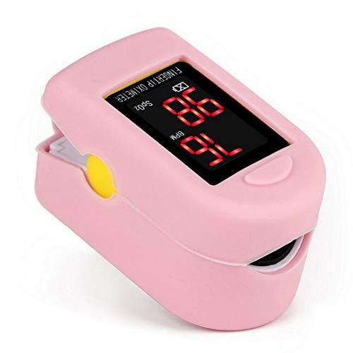 LLFFDC Oximeter Fingeroximeter mit großem Bildschirm Messen Sauerstoffgehalt im Blut SpO2 und Pulsfrequenz mit LED Display