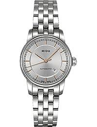 Mido Damen-Armbanduhr XS Baroncelli Analog Automatik Edelstahl M76004101
