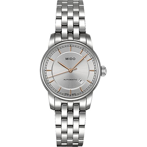 Mido Women's Analogue Watch with Metallic Dial Analogue