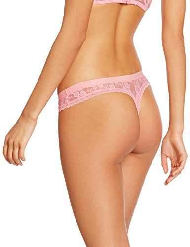 IRIS & LILLY Damen String Soft Lace Rosa (Pink)