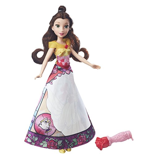 Disney princess belle' s magical story skirt doll