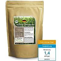 Nurafit reines BIO  Gerstengras-Pulver | Green-Smoothie Pulver | zertifizierte Spitzenqualität | Gerstenpulver ohne Zusatzstoffe | Natürlicher Gerstengrasssaft Drink | 500g / 0,5kg