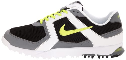 Nike NIKE AIR RANGE, Scarpe da golf uomo CYBER/WHITE (Black/Cyber White)