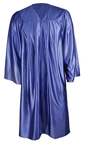 Ivyrobes  Herren Mantel Blau - royalmarooncross