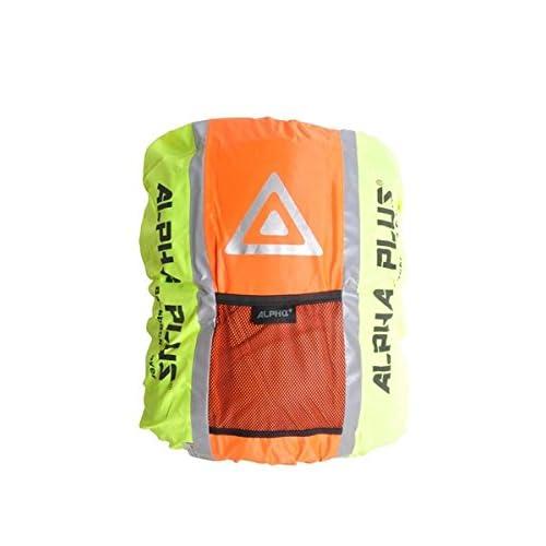 Alpha Plus Waterproof Backpack Cover   ORANGE