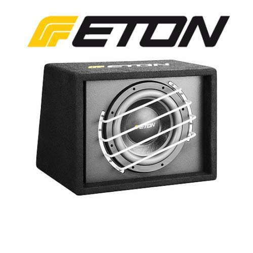 Eton Force 10-800 BR 25 cm Subwoofer Bassreflex 700 Watt 2x2 Ohm Passiv