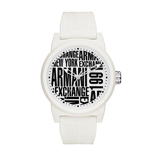 4e20cf8c6ff6 Armani Exchange Reloj Analógico para Hombre de Cuarzo con Correa en  Silicona AX1442 ...