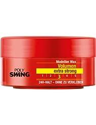 Schwarzkopf Poly Swing Volumen Wax, extra strong Halt 3, 5er Pack (5 x 75 ml)