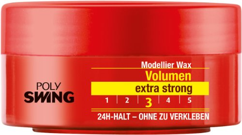 Poly Swing Volumen Wax, 5er Pack (5 x 75 ml)