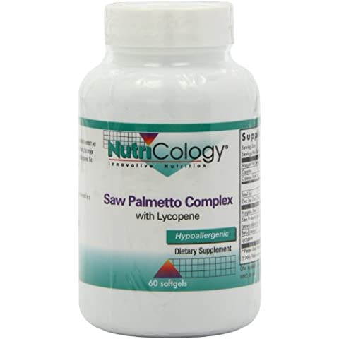 Nutricology Saw Palmetto Complex with Lycopene (60 Softgels)