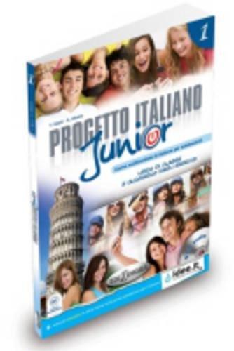 Progetto Italiano Junior: Libro + Quaderno + CD Audio (Livello A1) par Telis Marin, A Albano