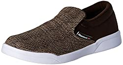 Reebok Classics Mens Court Slip On Earth, Canvas and White Loafers and Moccasins - 7 UK/India (40.5 EU)(9.5 US)