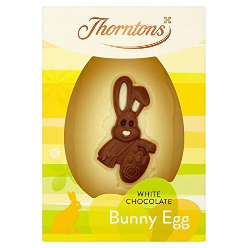 Thorntons White Chocolate Bunny Egg, 151 g