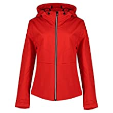 Superdry Women's Ls Essentials Summer Trekker Jacket, Red (Apple Red OMG), XL (Size:16)
