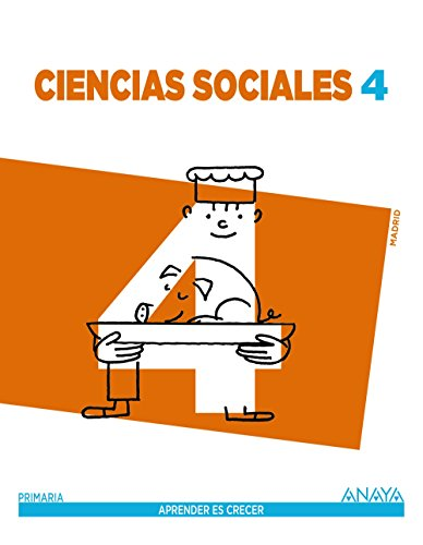 Ciencias Sociales 4. (Aprender es crecer) - 9788467878301 por Carlos Marchena González