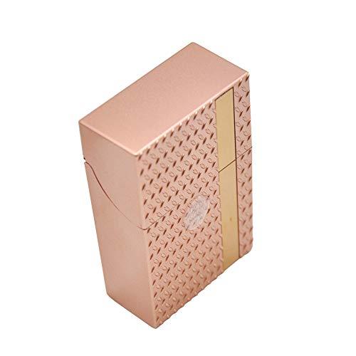Tabak Lagerung (erthome 1 STÜCK Zucker Schädel Kunststoff Zigarettenschachtel Tasche Tabak Lagerung Hard Case)