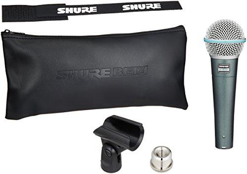 Shure Beta 58A - Micrófono (neodimio, 51 Db, 50 - 16000 Hz), color ne