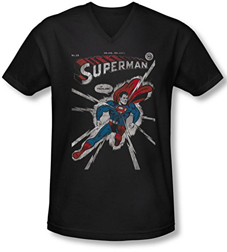Dc - Männer Cover Me V-Neck T-Shirt Black