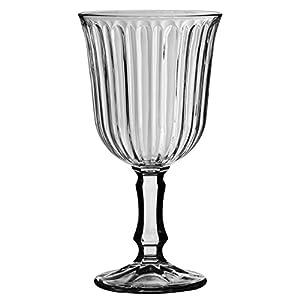 Libbey 2178S1F24 Weißweinglas Weinkelch Nostalgie 240 ml, Höhe 15,5 cm, 6 Stück