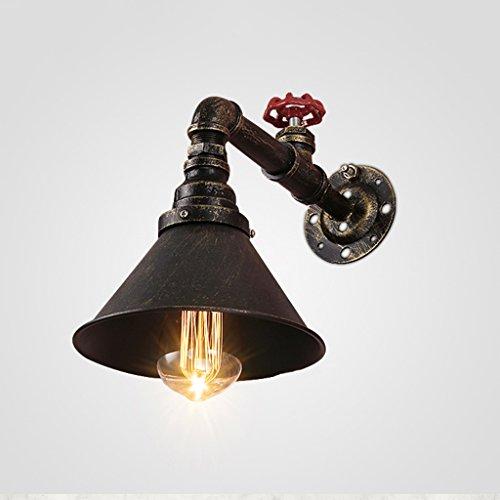 E27 Lámpara Tensión 90-240 Voltios Lámparas De Pared Industrial Vintage Lámpara De...