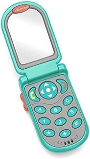 Infantino Flip & Peek Fun phone-Teal |Baby Activity , Learning & Developi