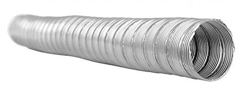 1meter flessibile in acciaio inox tubo dn 120mm a doppia parete camino/canna fumaria camino ristrutturazione