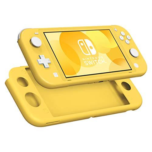 MoKo Funda Compatible con Nintendo Switch Lite, Estuche de Silicona Portátil Ultra Delgado Caja Protectora de Viaje para Nintendo Switch Lite 2019 - Amarillo