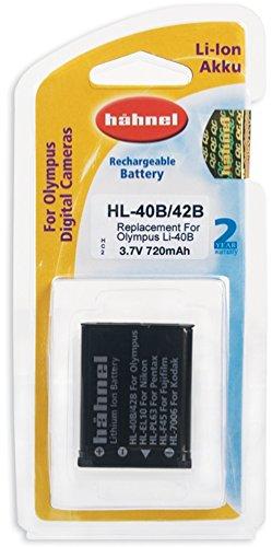 Hähnel HL 42 3,7V 660mA Ersatzakku Typ Olympus LI-40B / LI-42B , baugleich Nikon EN-EL10 , Pentax D-LI63 - En-el10 Lithium-batterie