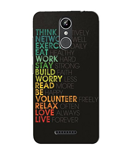 Inktree® Designer Printed Soft Silicone Back Case Cover for Xolo Era 2X