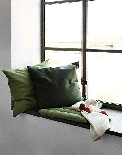 LINUM Sitzkissen PEPPER G06 beige 40cm x 40cm x 4cm, Dekokissen, Kissen, Wohntextilien - 5
