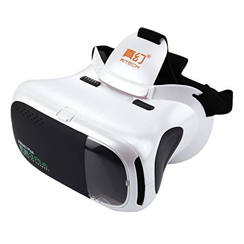 Wewoo VR-Brille für Smartphones mit 4,7-6 Zoll (4,7-6 Zoll), 3D VR Virtuelle Realität Mobile 360 Grad Video Private Kino Brille mit Sichtfenster