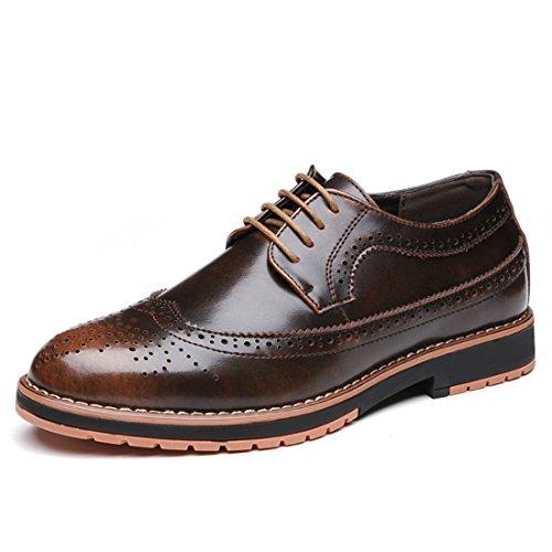 Men's Bullock Genuine Leather Formal Shoes brown