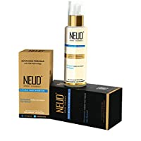 NEUD Natural Hair Inhibitor for Permanent Reduction of Unwanted Body and Facial Hair in Men and Women - Pack of 1