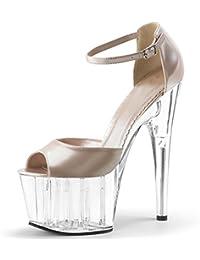 GTVERNH-scarpe scarpe locali notturni sexy impermeabile 15cm ultra tacchi trasparenti sandali matrimonio scarpe scarpe di cristallo…