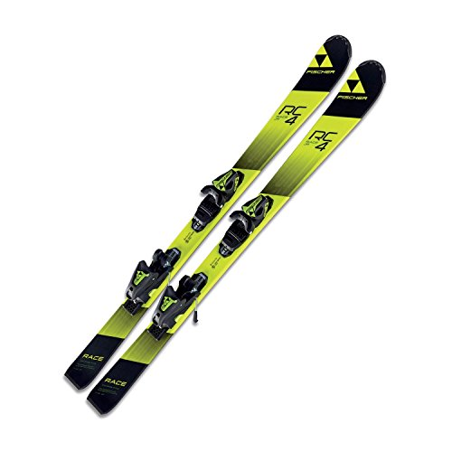 Ski Fischer RC4 Race JR junior 130cm Modell 2017S On-Piste-Rocker inkl. Bindung FJ7 AC