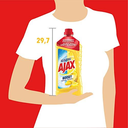 AJAX Nettoyant Ménager Boost Bicarbonate Citron 1,25L