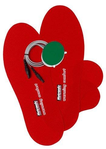 Hotronic Art. 1220 Heizelemente mit selbstklebenden Abdecksohlen (rot) & Streifen Zubehör Hotronic FootWarmer Modell Winter 2012/2013