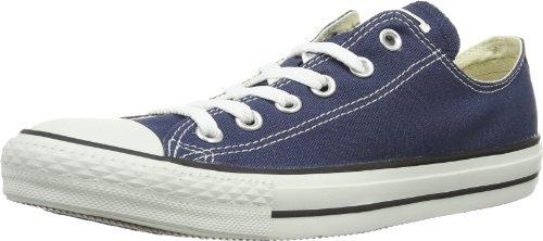 Converse All Star Ox–Scarpe da Ginnastica di Tela per Donna Blu Size: Men 4.5 Women 6.5