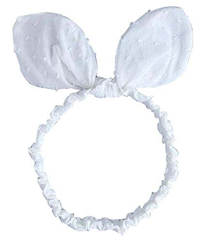Bébé coréen Band Hair Bow Cute Baby Accessoires cheveux blancs
