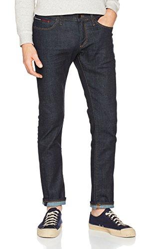 Tommy Jeans Herren Slim Jeans Slim Scanton Rinsc Blau (RINSE COMFORT 498)